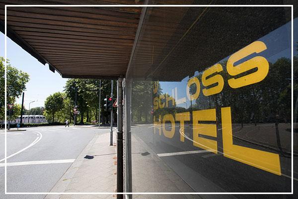 Aussenbereich Hotel Benrath